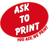 Logo Ask to Print